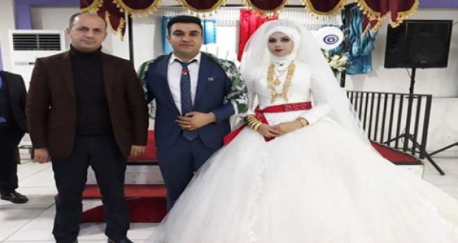 Başkan Yavuz, Gazi Kaya'nın Düğün Törenine Katıldı