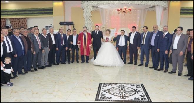 Cumhur ittifakı bu düğünde buluştu
