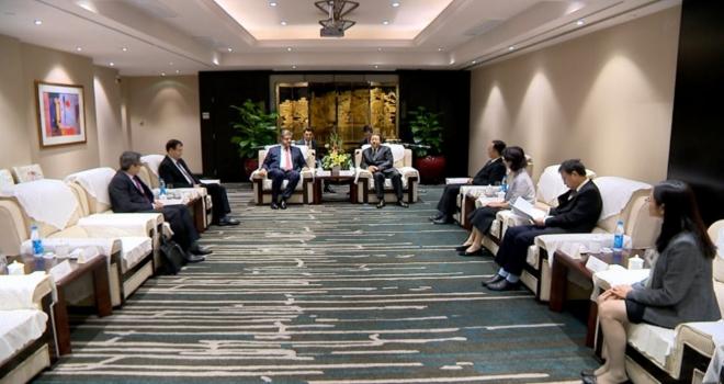 Önen, Türkiye ve Suzhou'nun ticaret, yatırım ve turizm işbirliklerinin artırılmasına çalışıyor
