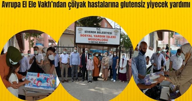 Avrupa El Ele Vakfı'ndan çölyak hastalarına glutensiz yiyecek yardımı