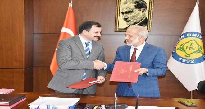 Harran Üniversitesi ile Şanlıurfa İl Milli Eğitim Müdürlüğü arasında protokol imzalandı.