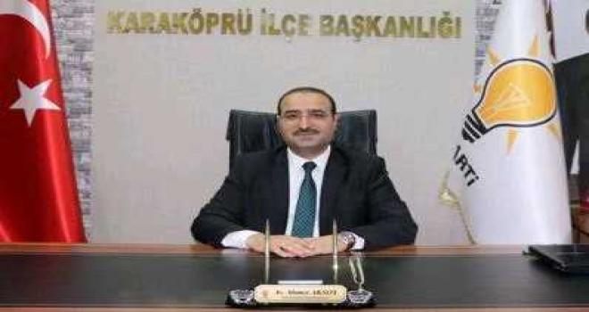 Ak Parti Karaköprü İlçe Başkanı İstifa Etti