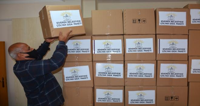 Çölyak hastalarına gıda paketi