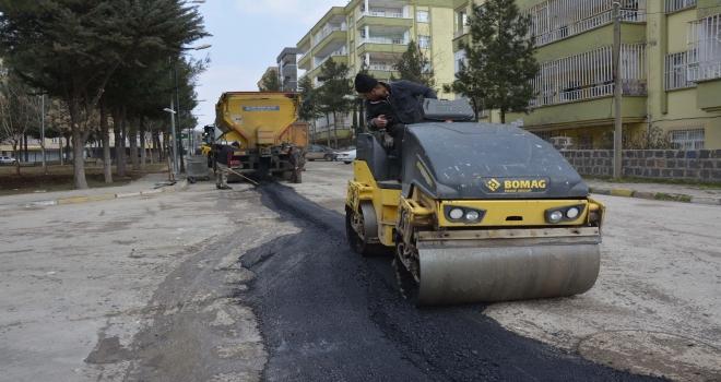 Ofis mahallesinde asfalt çalışmaları sürüyor
