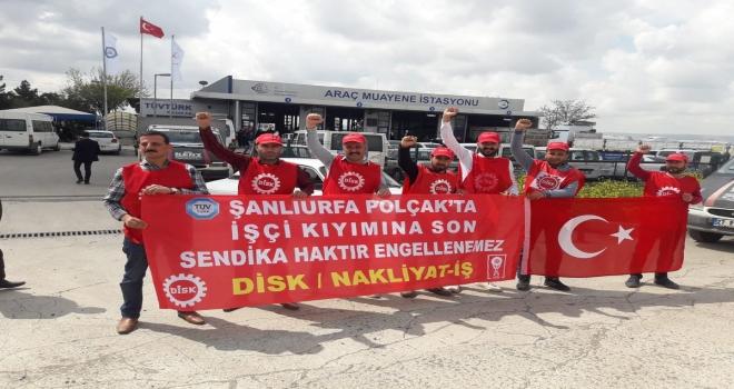 Tüvtürk/Polçak İşçileri 1 Mayıs'ta Taksim'de!
