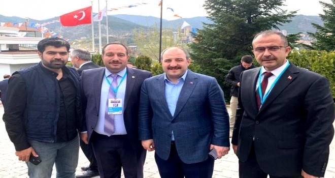 Başkan Aksak, Ceylanpınar'ın Sorunlarını İletti