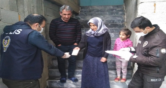 1000 TL'lik Yardımlar Evlere Dağıtılmaya Başladı