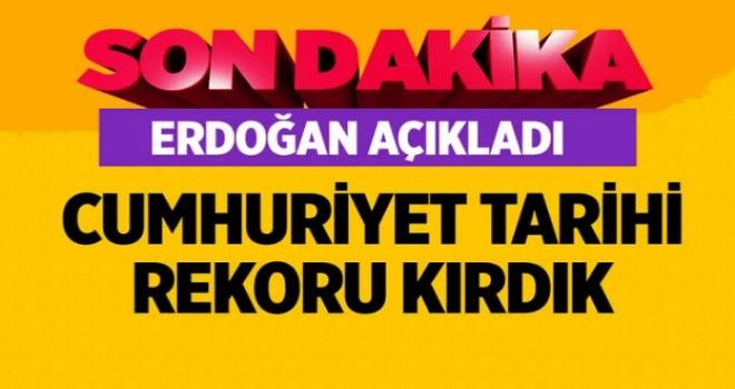 Erdoğan açıkladı: Bu yıl üreticilerimize toplam 24 milyar lira tarımsal destek sağlayacağız