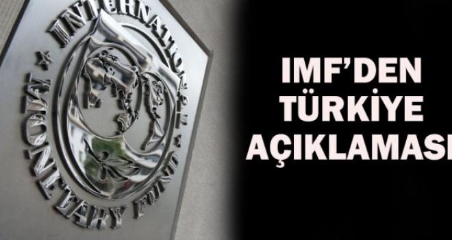 IMF'den Türkiye açıklaması: Bir neden yok...