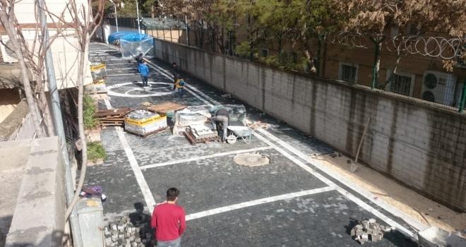Suruç'ta Sokak Cephe Sağlıklaştırma Çalışmaları Devam Ediyor.