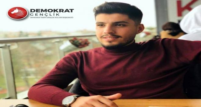 Demokrat Parti'de Gençlik Kolları Güneydoğu Anadolu Koordinatörü Halil Kalkan oldu.
