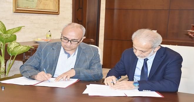 Harran Üniversitesi ile Gençlik ve Spor İl Müdürlüğü arasında işbirliği protokolü imzalandı