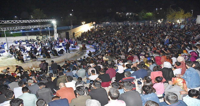 'Harran Üniversitesi Gençlik Orkestrası'ndan Tarihi Konser