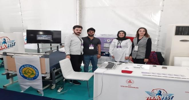 Teknofest 2019'da Harran Üniversitesi Sağlık Kategorisine 2. Oldu