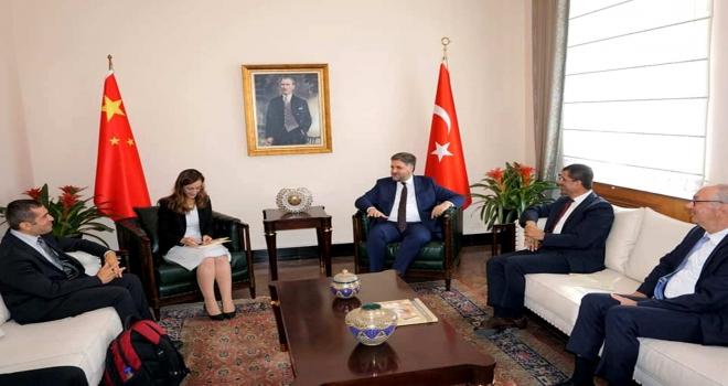Büyükelçi Önen'e ziyaretler ve Göbeklitepe tanıtımı