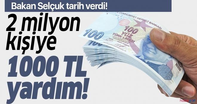 1000 TL Sosyal Yardım Ödemeleri Hakkında Önemli Açıklama