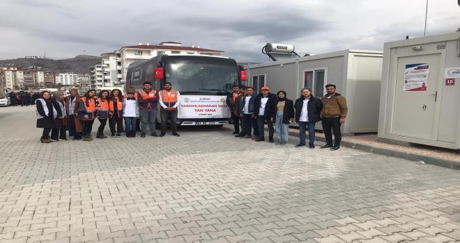 """ŞURKAV Deprem Bölgesi Elazığ'da """"Yardımlaşmadan Yana Yan Yana"""""""