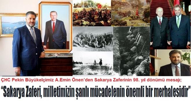 """""""Sakarya Zaferi, milletimizin şanlı mücadelenin önemli bir merhalesidir"""""""