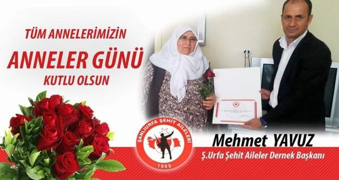 Başkan Yavuz`dan Anneler Günü Kutlama Mesajı.