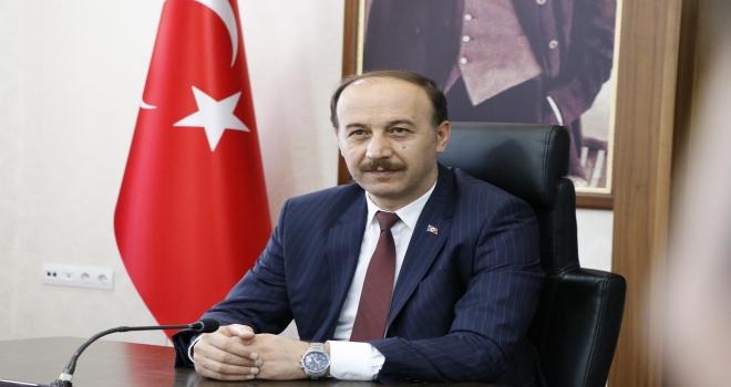 VALİ ERİN'DEN TEBRİK