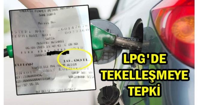Urfa'da LPG fiyatları protesto ediliyor