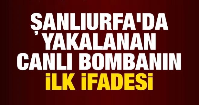 Urfa'da canlı bomba alarmı!