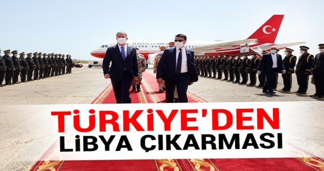 Türkiye'den Libya çıkarması