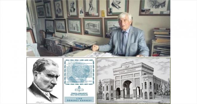 88 yaşındaki Gravür Sanatçısı Ressam Cemal Akyıldız Hayatını Kaybetti.