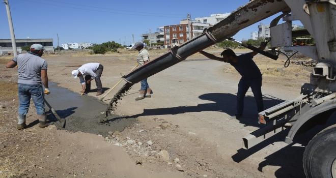 Sokaklarda iyileştirme çalışmaları sürüyor