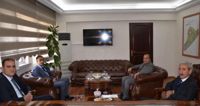 Başsavcı Vekilinden Başkan Şeyhmus Aydın'a ziyaret