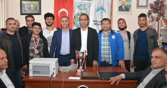 Süper Lig'e Yükselen Engelsiz Ceylanlara Coşkulu Karşılama