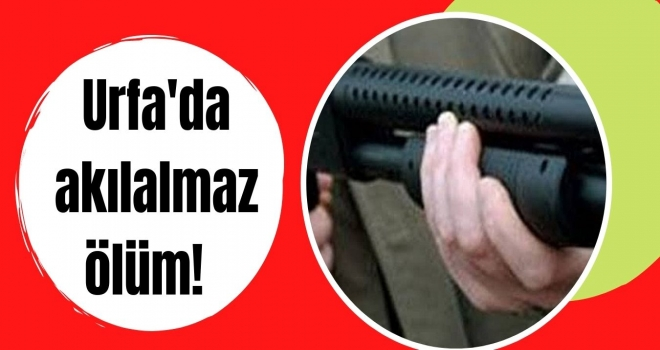 Urfa'da akılalmaz ölüm!