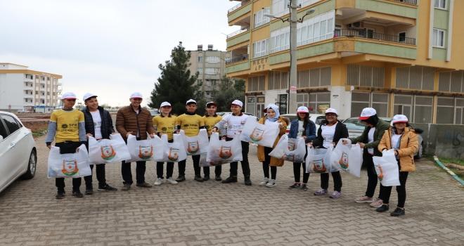 'SIFIR ATIK TİMİ' GÖREV BAŞINDA
