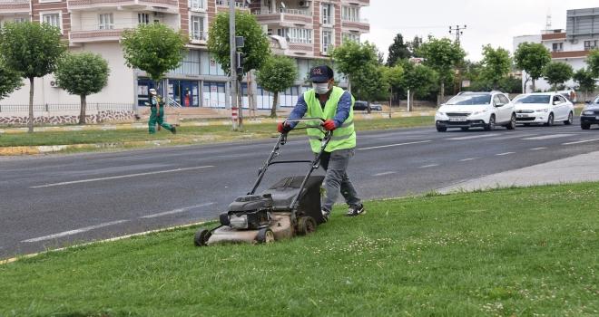 Park ve yeşil alanlarda çalışmalar sürüyor