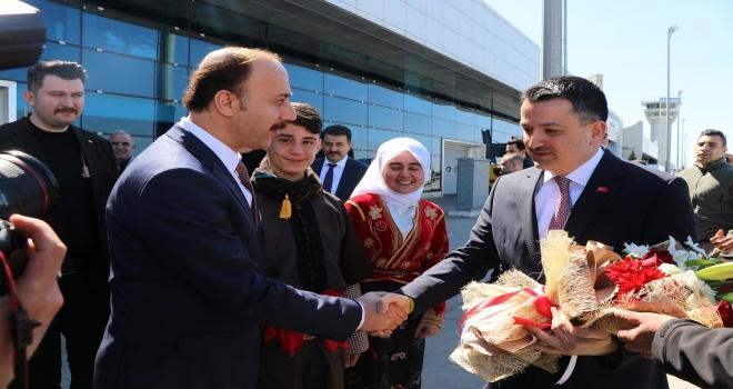 BAKAN PAKDEMİRLİ ŞANLIURFA'DA