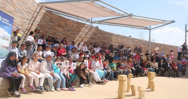 Çocuklar, Göbeklitepe Şenliği'nde Eğlenceye Doydu