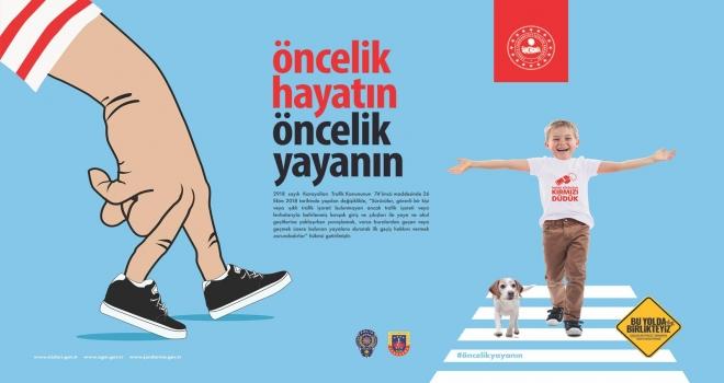 """81 İLDE EŞ ZAMANLI """"ÖNCELİK HAYATIN, ÖNCELİK YAYANIN"""" EYLEMİ"""