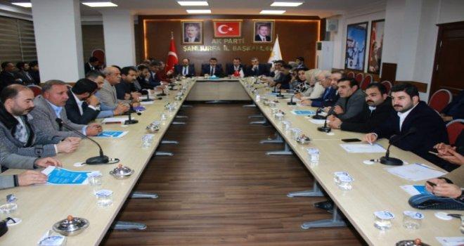 AK Parti Şanlıurfa Yönetimi Yılın Son Toplantısını Gerçekleştirdi