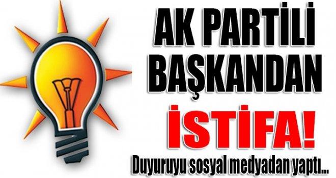 AK Parti'de beklenmeyen istifa...