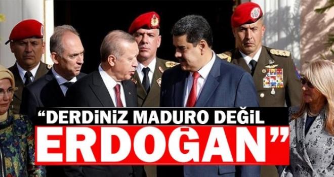 Metiner: Derdiniz Maduro değil, derdiniz Erdoğan