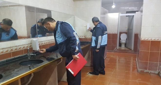 Siverek'te zabıta ekipleri hijyen denetimlerini arttırdı.