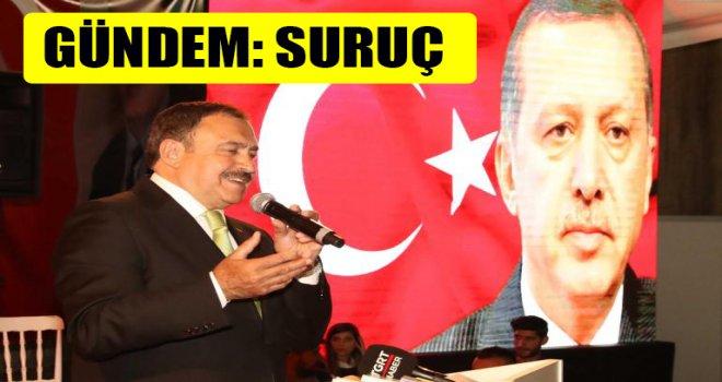 Bakan Eroğlu, Suruç için talimat verdi