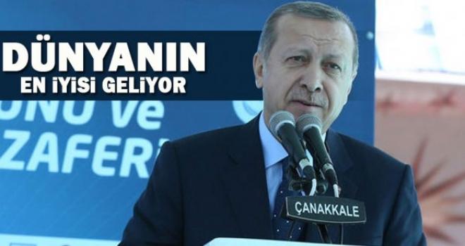 Erdoğan müjdeyi verdi,