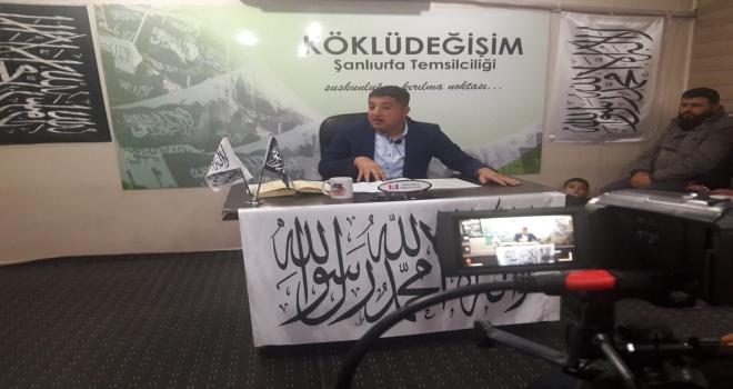 ŞANLIURFA 'AİLENİN İFSAT EDİLMESİNE İZİN VERMEYECEĞİZ' DEDİ