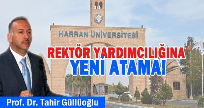 Harran Üniversitesi'nde atama! Yardımcılığa getirildi