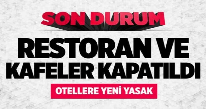 Marmara'da vaka birincisi Yalova'da yeni yasaklar geldi! Kafe ve restoranlar kapandı