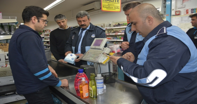 Siverek'te Fiyat artışlarına zabıta kontrolü