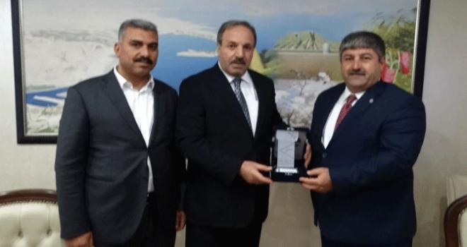 Milletvekili Özcan ve Akay'dan Şanlıurfa Ziraat Odasına Ziyaret
