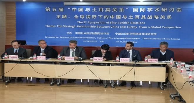 ÇHC Pekin Büyükelçimiz Önen'e ziyaretçi akını