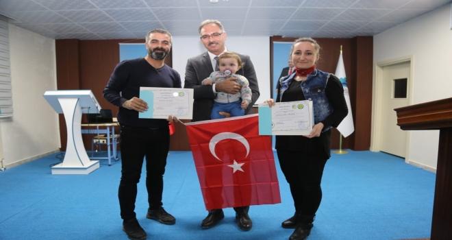 BAŞKAN KUŞ'TAN ÖĞRETMENLERE 'ANLAYARAK HIZLI OKUMA' SERTİFİKASI